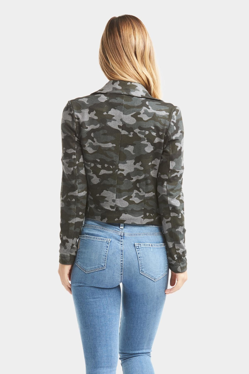 Tart Collections Gracia Camo Jacket - Side Cropped Image