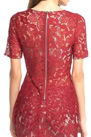 Tart Collections Lace Red Top - Front full body