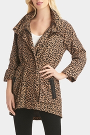 Tart Collections Leopard Printed Anorak - Front cropped