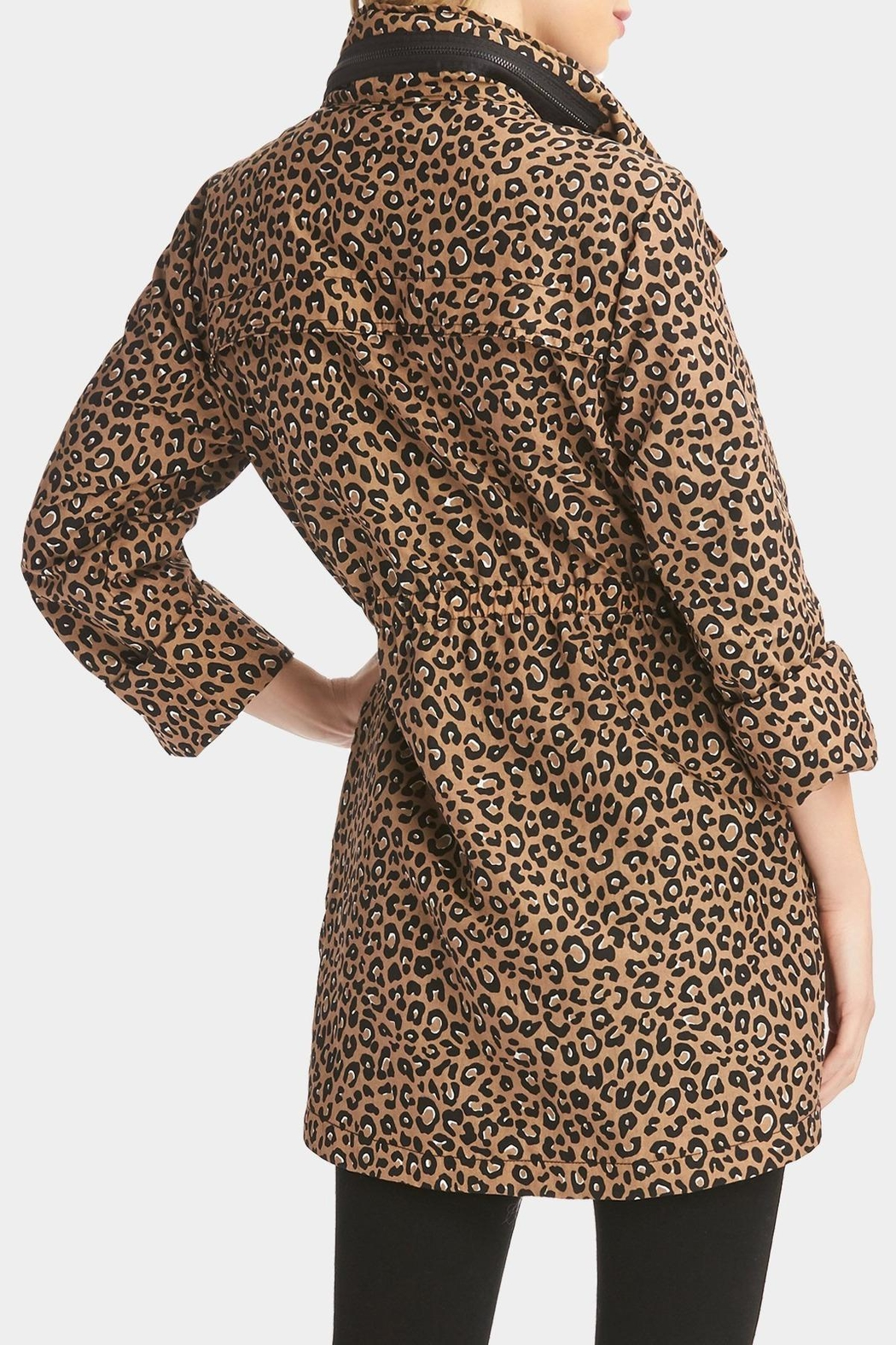 Tart Collections Leopard Printed Anorak - Side Cropped Image