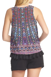 Tart Collections Pom Pom Tank - Front full body