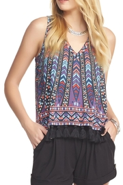 Tart Collections Pom Pom Tank - Front cropped