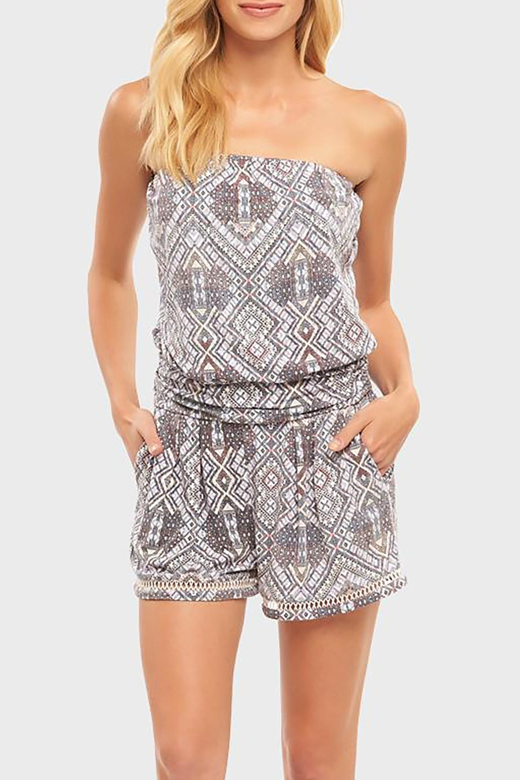 Tart Collections Raja Romper - Front Full Image