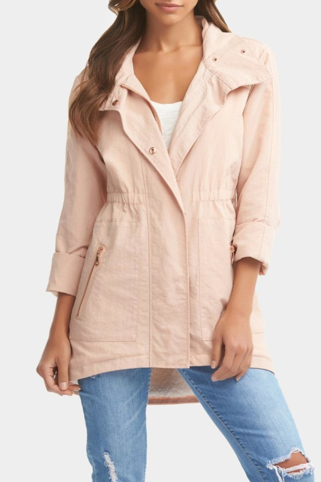 Tart Collections Rory Pink Jacket - Main Image