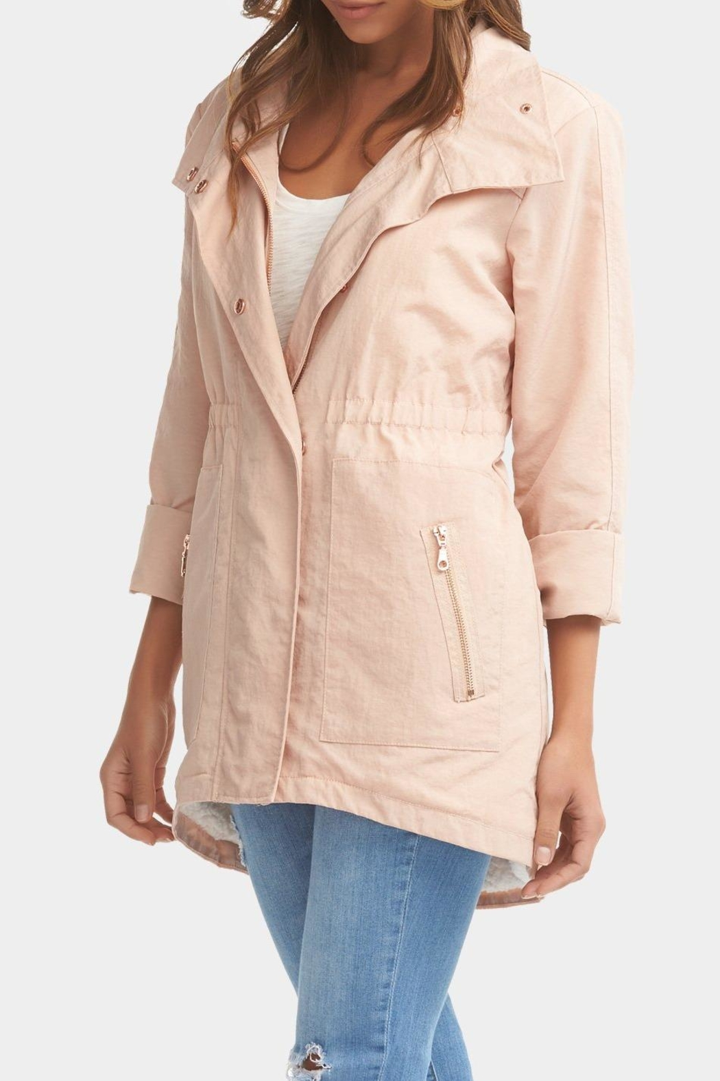 Tart Collections Sherpa Lined Anorak - Front Full Image