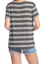 Tart Collections Striped Tee Top - Front full body