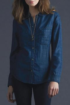 Shoptiques Product: Textured Chambray Shirt