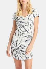 Tart Collections Tie Dye T-Shirt Dress - Front cropped