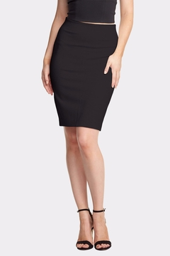Shoptiques Product: Tracy Ponte Skirt