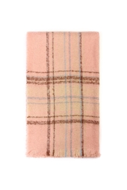 Riah Fashion Tartan Blanket Scarf - Product Mini Image