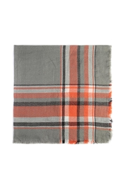 Riah Fashion Tartan Fringed Shawl-Scarf - Product Mini Image