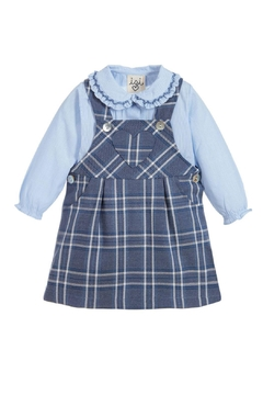 Shoptiques Product: Tartan Pinafore Set.