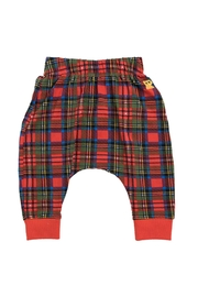Rock Your Baby Tartan Trousers - Front cropped
