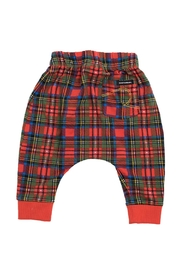 Rock Your Baby Tartan Trousers - Front full body
