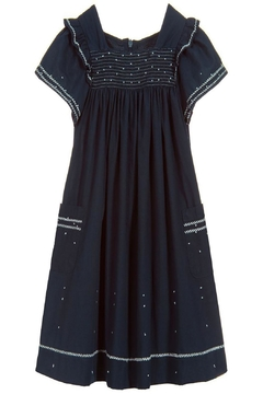 Tartine et Chocolat Midnight Blue Dress - Product List Image