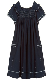 Tartine et Chocolat Midnight Blue Dress - Front cropped