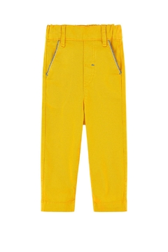 Tartine et Chocolat Yellow Twill Trousers - Product List Image