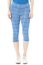 Tasc Performance Print Bamboo Crop Pant - Side cropped