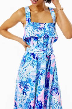 Lilly Pulitzer Tasely Jumpsuit - Alternate List Image