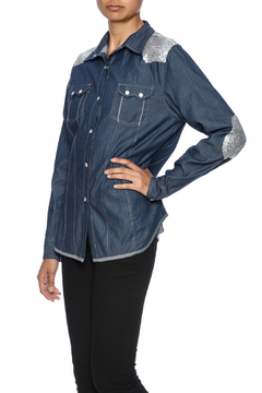 Shoptiques Product: Jean Sequin Shirt