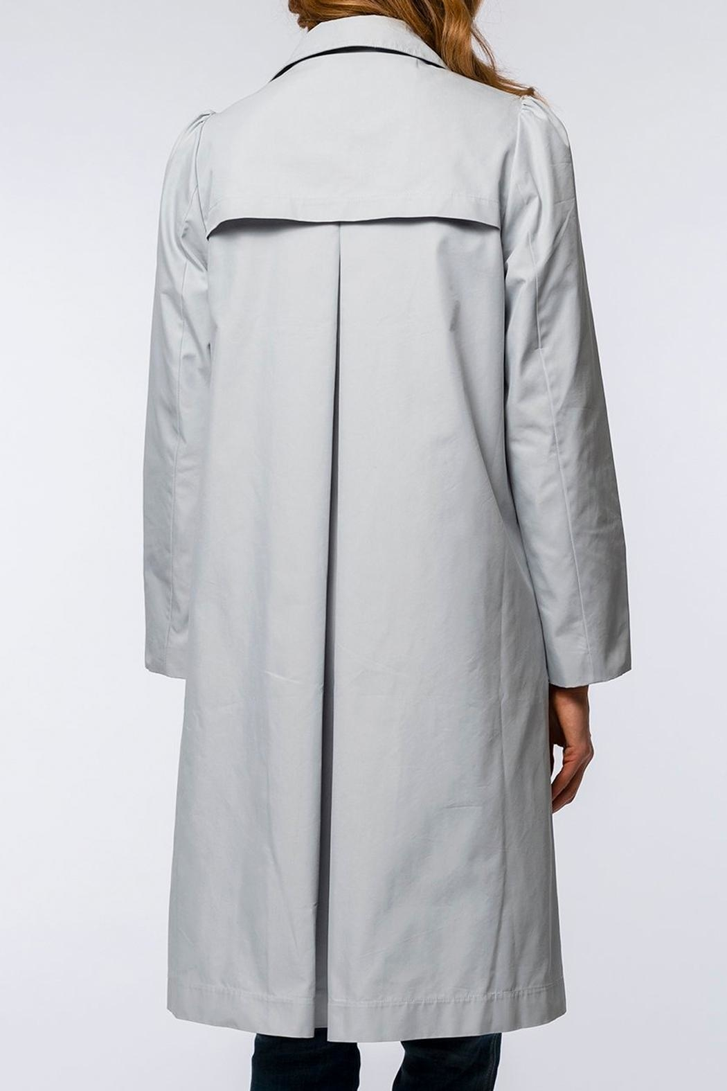 Tyler Boe Tasha Water-Repellent Trench-Coat - Front Full Image