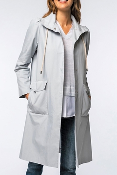 Tyler Boe Tasha Water Repellent Trench Coat - Product List Image