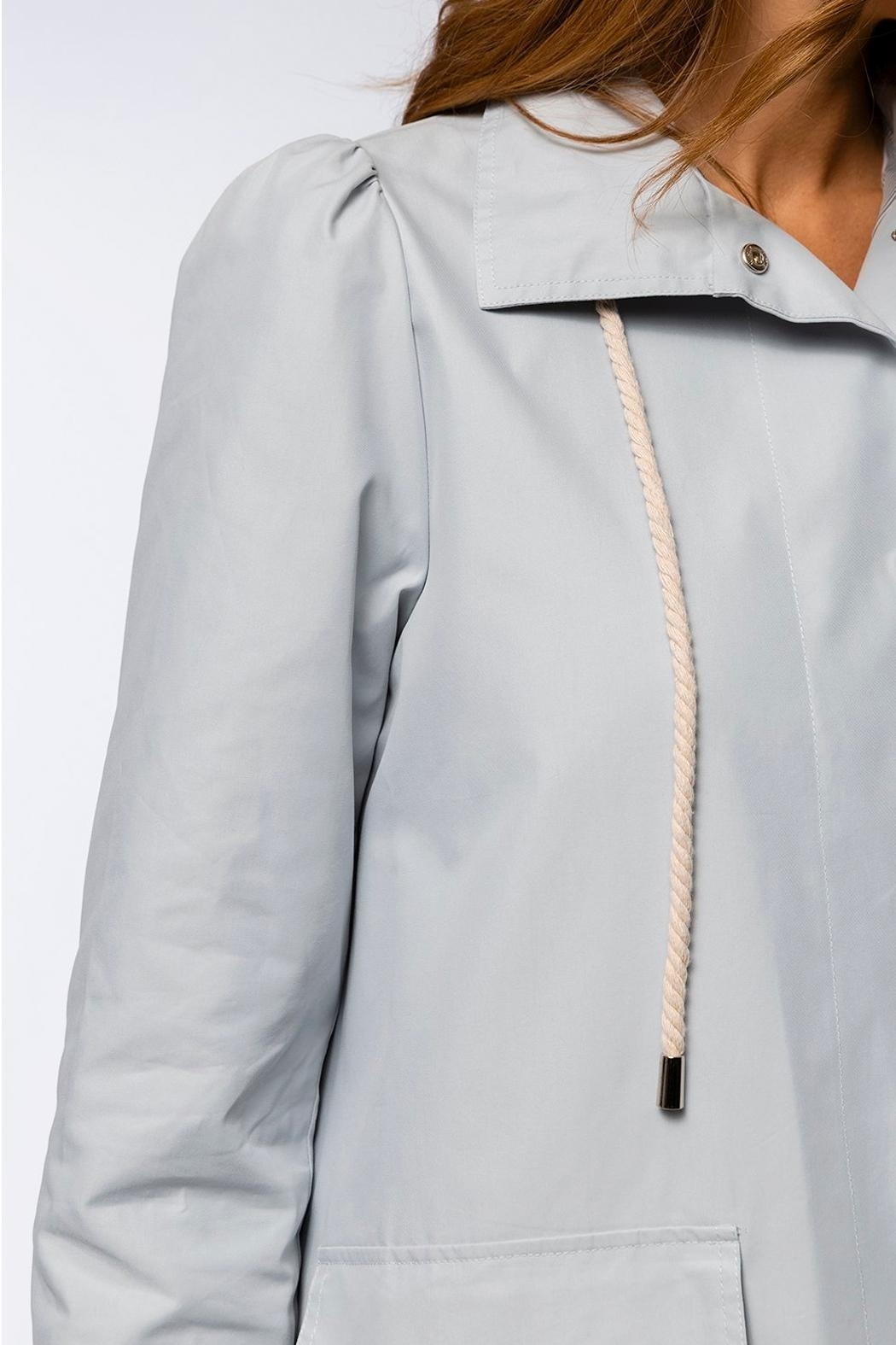 Tyler Boe Tasha Water Repellent Trench Coat - Side Cropped Image