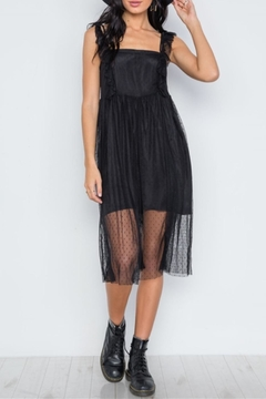 Renamed Clothing Downtown Lace Midi - Product List Image