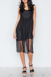 Renamed Clothing Downtown Lace Midi - Front full body