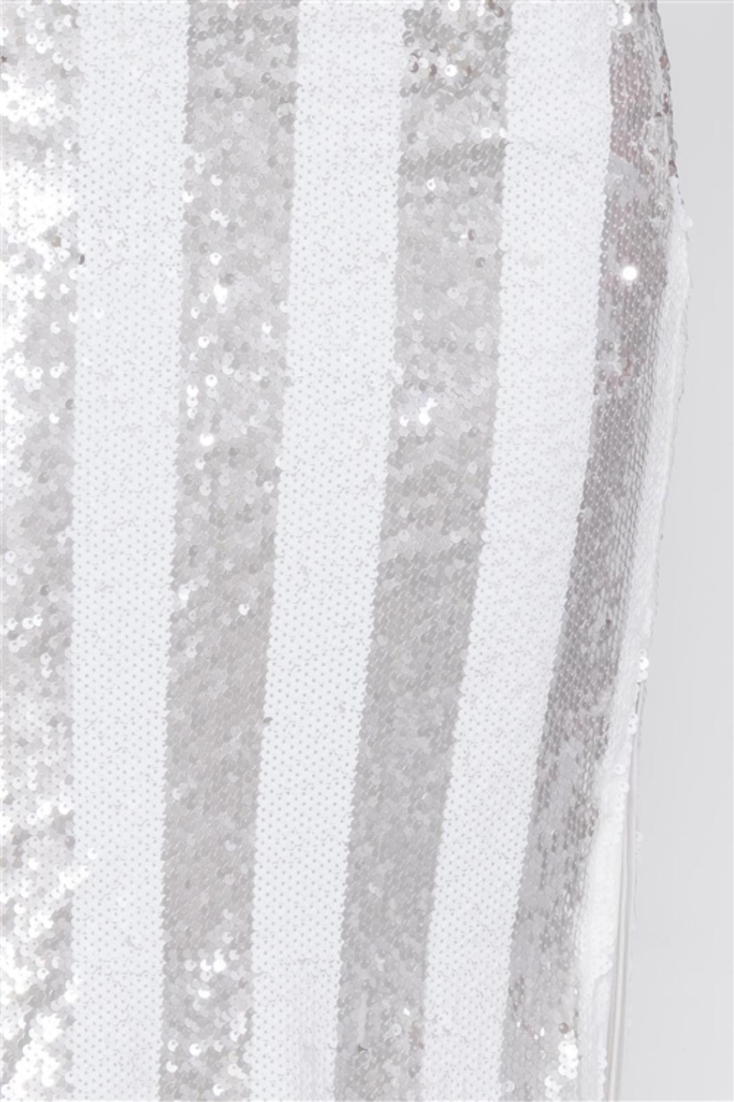 etophe studios Electric Sequin Skirt - Back Cropped Image