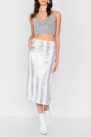 etophe studios Electric Sequin Skirt - Front cropped