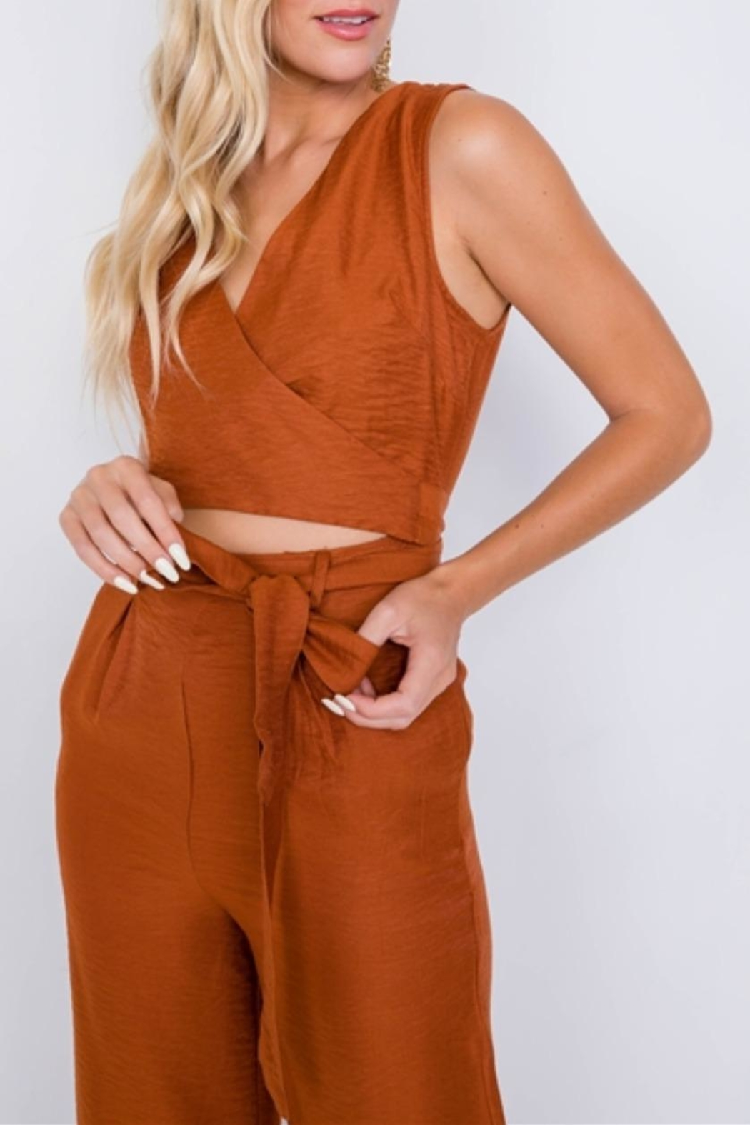 Le Lis Fresh Start Jumpsuit - Side Cropped Image