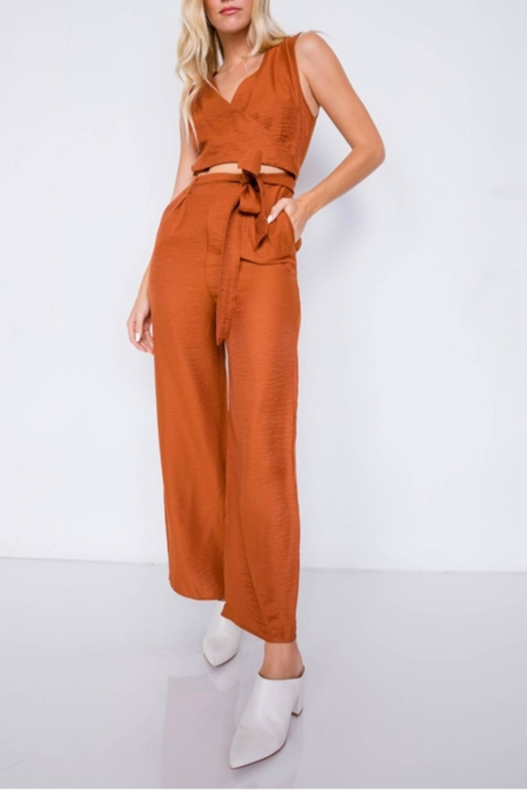 Le Lis Fresh Start Jumpsuit - Main Image