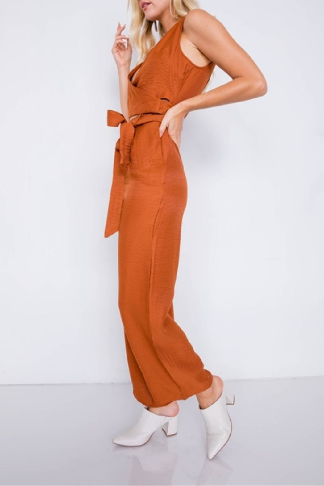 Le Lis Fresh Start Jumpsuit - Front Full Image