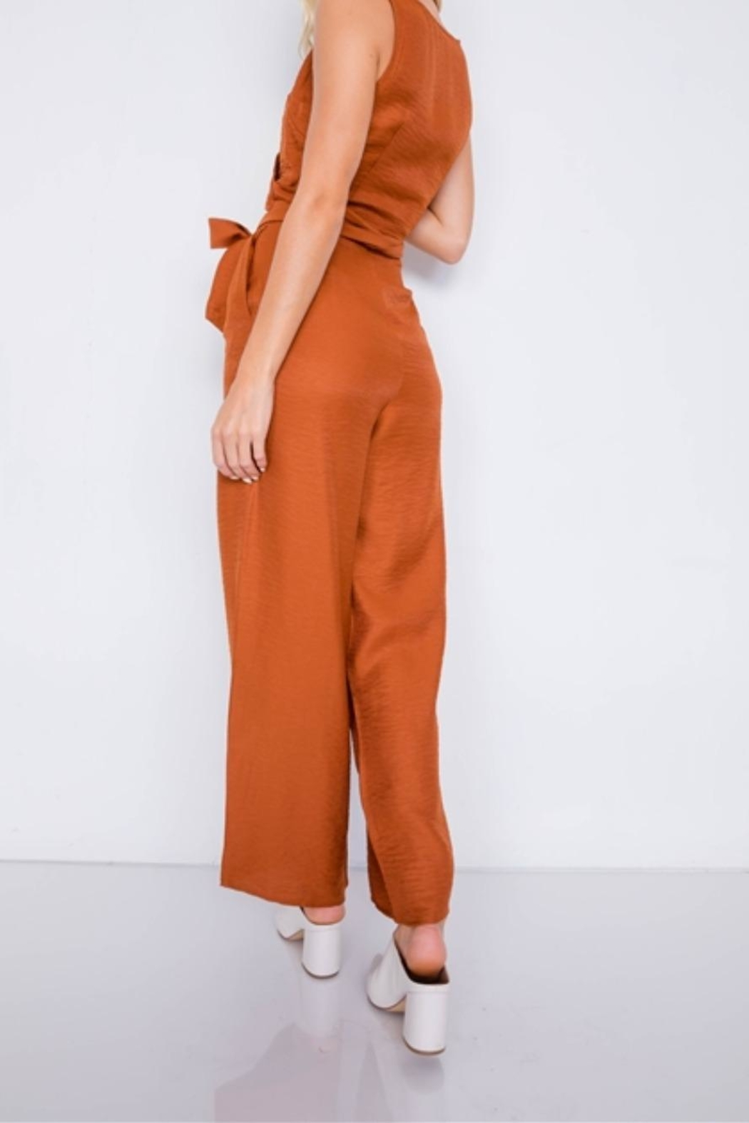 Le Lis Fresh Start Jumpsuit - Back Cropped Image