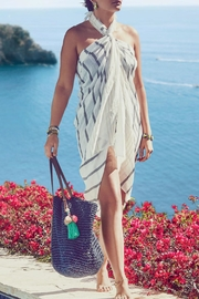 Chloe & Isabel Tassel Beach Tote - Front full body