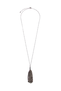 Shoptiques Product: Tassel Beaded Longline-Necklace
