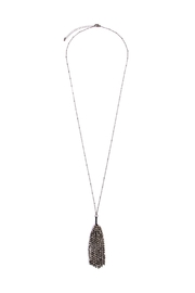 Riah Fashion Tassel Beaded Longline-Necklace - Product Mini Image