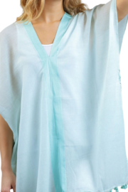Hurricane Ltd. Tassel Cover-Up Tunic Top - Front cropped