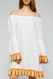 Velzera Tassel Dress - Product Mini Image