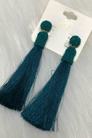 Izzie's Boutique Tassel Earrings - Front cropped