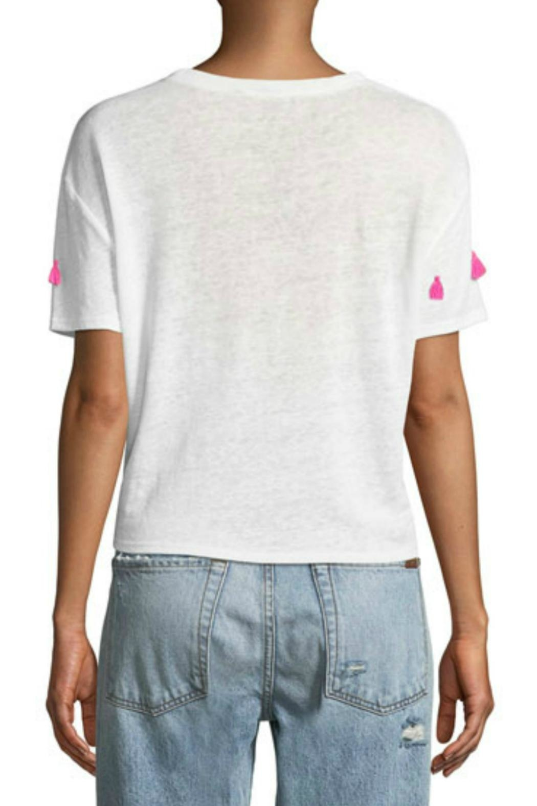 Generation Love  Tassel Embellished Tee - Front Full Image