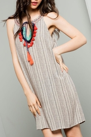 THML Clothing Tassel Front Halter - Product Mini Image