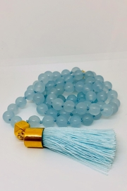Abeja Tassel Glass Beads - Front cropped