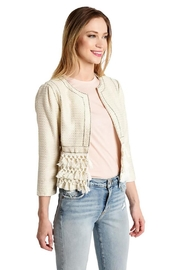Cupcakes and Cashmere Tassel Knit Jacket - Front cropped
