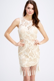 Blithe  Tassel Lace Dress - Product Mini Image