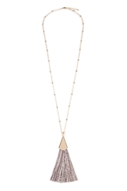 Riah Fashion Tassel Necklace - Front cropped