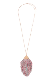 Riah Fashion Tassel-Pendant Long-Necklace - Product Mini Image