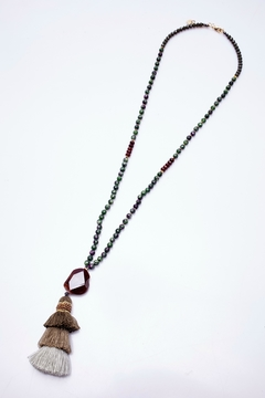 NAKAMOL CHICAGO Tassel Semiprecious Necklace - Product List Image