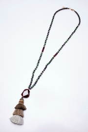 NAKAMOL CHICAGO Tassel Semiprecious Necklace - Product Mini Image